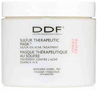 DDF Sulfur Therapeutic Mask, 4 oz.