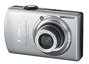 Canon PowerShot SD880IS 10MP Digital Camera with 4x Wide Angle Optical Image Stabilized Zoom (Silver)