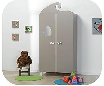 baby kleiderschrank iris wei taupe baby wtjcuvb. Black Bedroom Furniture Sets. Home Design Ideas