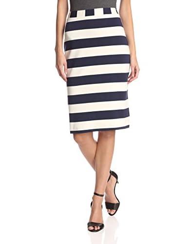 Hutch Women's Striped Knit Skirt