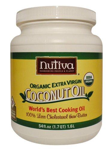 Nutiva Organic Extra Virgin Coconut Oil, 54oz