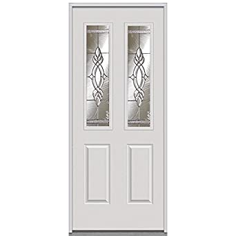National Door Company Z000855L Prehung Left Hand Inswing Entry Door Brentwoo