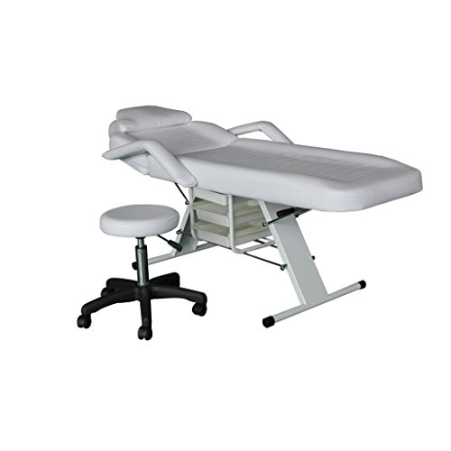 Eastmagic Massage Table Bed Chair Beauty Barber Chair Facial Tattoo Chair Salon Equipment (Hydraulic Massage Table compare prices)