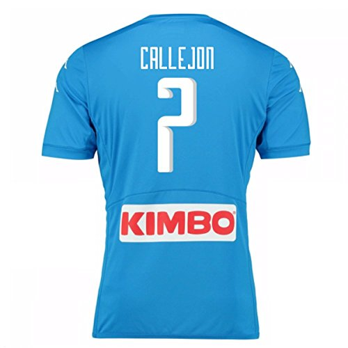 2016-17 Napoli Authentic Home Shirt (Callejon 7)