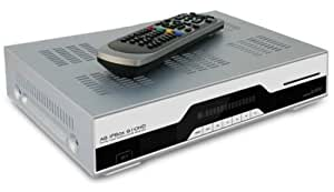 AB Com IPBox 910 HD DVB-S Linux HDTV Receiver silber mit eSATA Anschluss silber