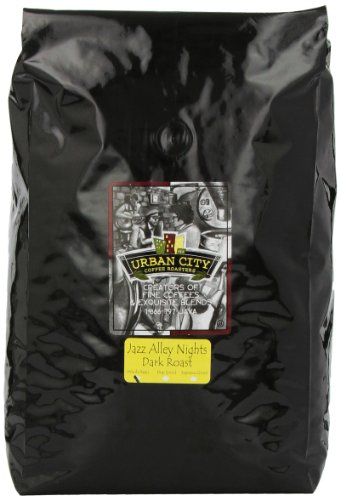 Urban City Coffee Jazz Alley Whole Bean, 80-Ounce Bags