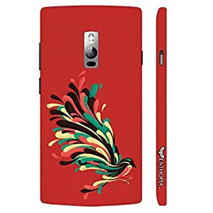 One Plus Two Colourful Koyal designer mobile hard shell case by Enthopia