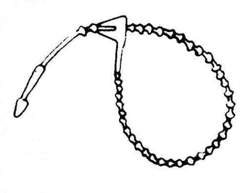Rasterschlaufen 125 mm (10000 rasterschlaufen pP)