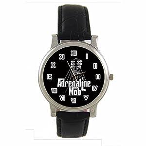 The Godfather Logo Vector Custom 100% NEW genuine leather Band fashion adult's Sport wrist watch