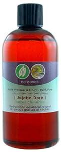 Huile de Jojoba Dorée Pressée à Froid - 100% Pure - 50ml