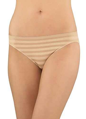 Jockey Women's Underwear Comfies Matte & Shine Bikini, light, 5