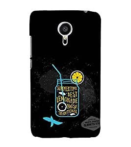 Vizagbeats Lemonade Back Case Cover for MEIZU MX 5