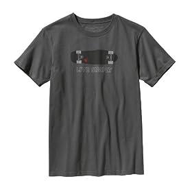 (パタゴニア)patagonia M's Live Simply Skateboard T-Shirt