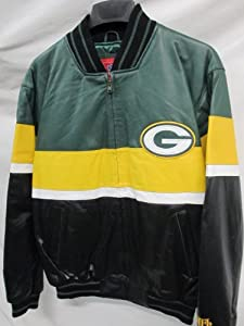 G-III Green Bay Packers Mens Medium Full Zip Leather Jacket by G-III Sports