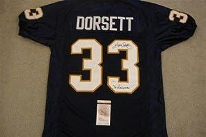 Tony Dorsett Autographed Jersey - 76 Heisman - JSA Certified - Autographed College... by Sports+Memorabilia