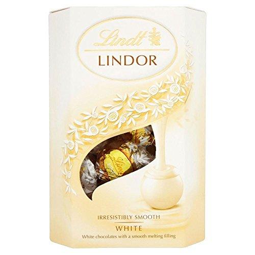 Lindt Lindor White Chocolate Truffles (200g)