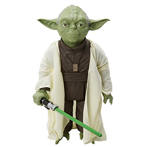 Star Wars Classic - 18 Inch Large Sized Yoda With Bonus Lightsaber Included