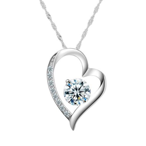 Chaomingzhen 925 Sterling Silver Rhodium Plated