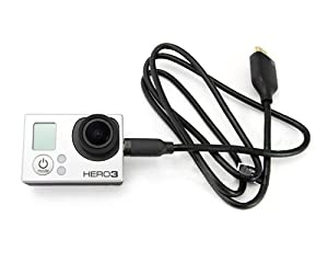 GoPro Micro HDMI Cable For Hero 3 Camera