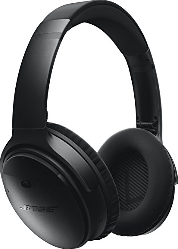 Bose ワイヤレスノイズキャンセリングヘッドホン QuietComfort 35 密閉型/オーバーイヤー/Bluetooth・NFC対応/リモコン搭載/通話可能 ブラック QuietComfort35 WLSS BLK【国内正規品】