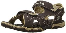 Timberland Adventure Seeker Two-Strap Sandal (Toddler/Little Kid),Brown/Tan,8 M US Toddler