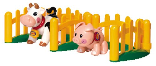 Tolo Toys First Friends Farm Animals - Piglet And Cow Set front-698902