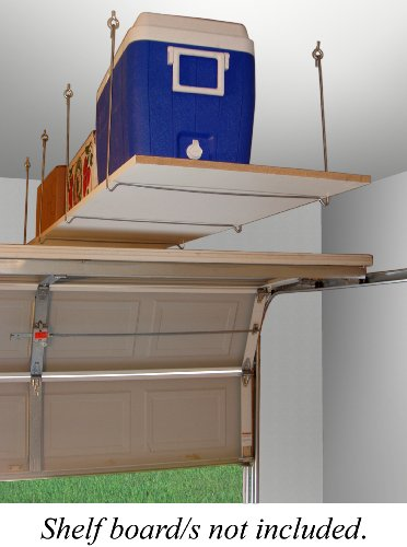 Images for Quick - Shelf Hangers Overhead Ceiling Mount Storage Unit