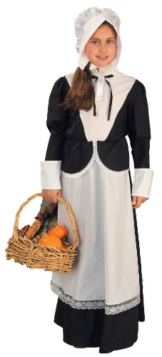 Small Pilgrim Girl Costume