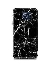 Black & White Marble Samsung S6 Edge Plus Case