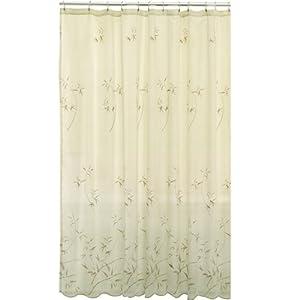 Amazon Maytex Bamboo Embroidery Fabric Shower