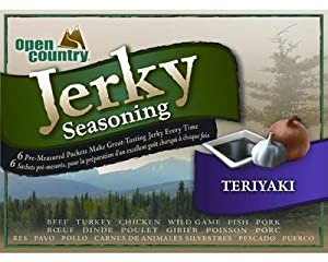 Open Country Jerky Spice Teriyaki (6 Pack) by Green Supply