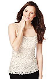 Corded Lace Vest Top