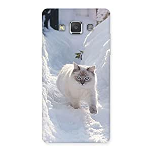 Snow Cat Back Case Cover for Galaxy Grand Max