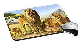 meSleep Lion Mouse Pad