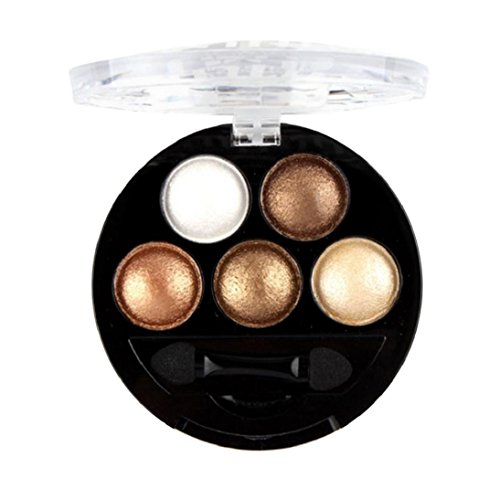 Fheaven New fashion Professional Natural Nudes Eyes Makeup Pigment Eyeshadow Eye Shadow Colour Palette (03)