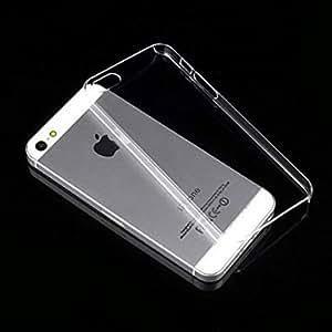 AKSHAJ Premium Quality Transparent Silicone back cover case for Iphone 4, 4s