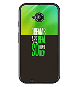 PrintDhaba Quote D-3320 Back Case Cover for MOTOROLA MOTO E2 (Multi-Coloured)