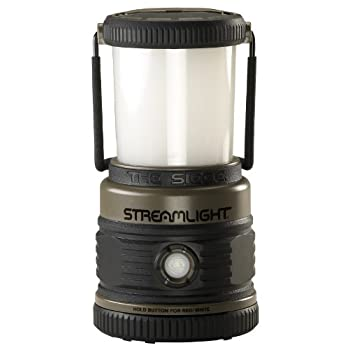 Streamlight Siege Lantern The new Siege Lantern from Streamlight is a rugged, cordless, alkaline battery-powered lantern that provides 360-degrees of soft, even light that illuminates a large area.    Lantern with Ergonomic HandleView larger      C...