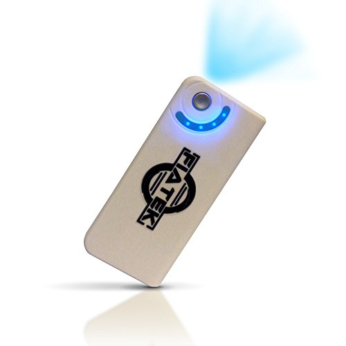 Portable Charger-White High Quality And Capacity- 5600Mah External Samsung Battery Stable- Rapid- Led Flashlight Function- Premium - Use With Apple Ipod, Ipad, Iphone 4S,5, 5S, Samsung Galaxy S3, S4,S5, Digital Camera, Gps- Lifetime Guarantee