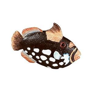 Siro Designs SD67-114 Fish Knob, 2.40-Inch, Black/White