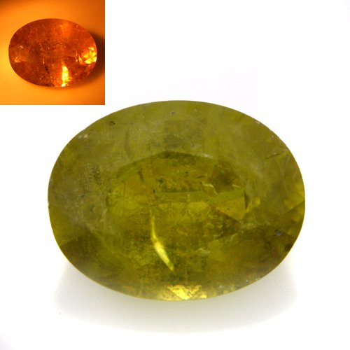 Natural Color Change Sphene Loose Gemstone Oval Cut 2.75cts 9*7mm Amazing