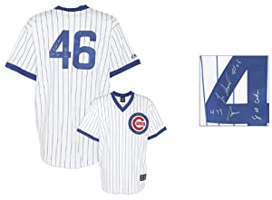 Lee Smith Chicago Cubs Autographed White Jersey with 478 Saves