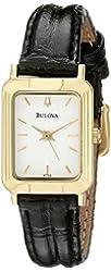 Bulova Women's 97T43 Leather Watch