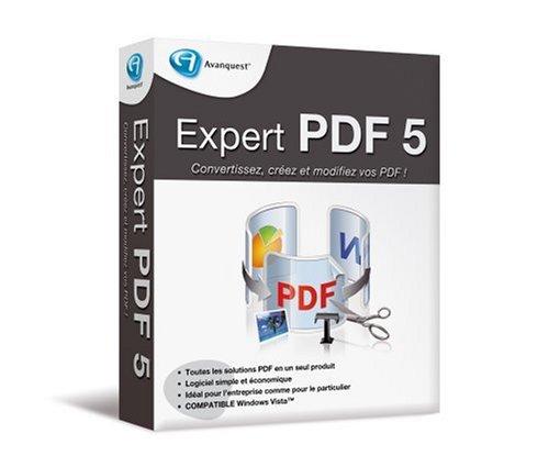 Expert Pdf - (Version 5 ) - Ensemble Complet - 1 Utilisateur - Cd - Win - Français