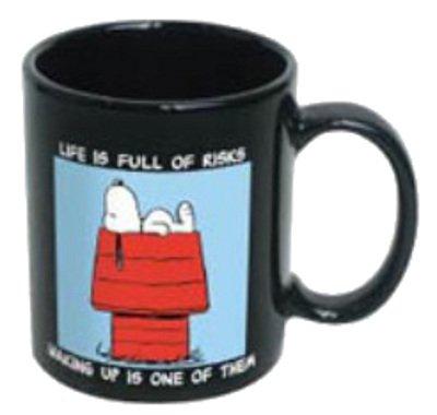 Peanuts Snoopy Life Is Full Of Risks Coffee Mug