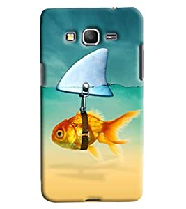 Blue Throat Fish Boldness Printed Designer Back Cover/ Case For Samsung Galaxy Grand Prime