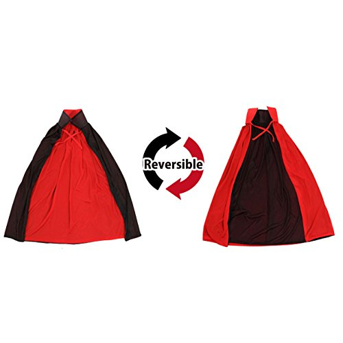 Cool Cosplay Vampire Witches Deluxe Reversible Cape Halloween (For Women) (Cool Cosplay compare prices)