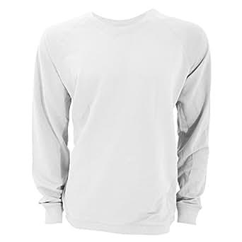 B&C Paradise Reef - Sweatshirt - Homme (S) (Blanc)