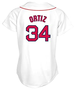 David Ortiz Boston Red Sox Home Ladies Replica Jersey by Majestic by Majestic