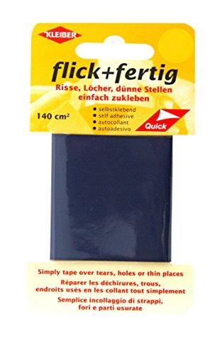 kleiber-140-cm-flick-fertig-selbstklebendes-reparaturband-aus-nylon-marine-blau